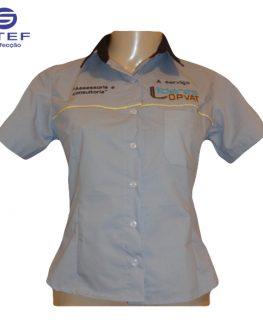 Camisa Social Feminina Mod1